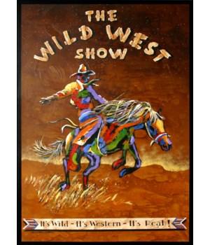 WILD WEST SHOW (canvas wrap)