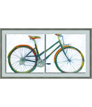 BICYCLE DIPTYCH (2 in 1 frame)