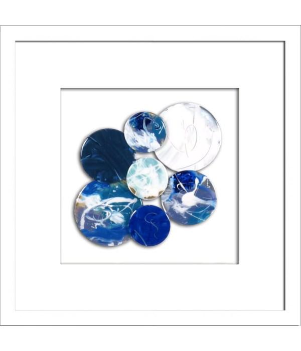 BLUE BAUBLEICIOUS I (square)