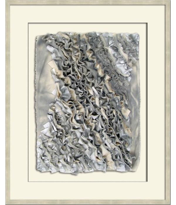 RUFFLE CANVAS I (silver)