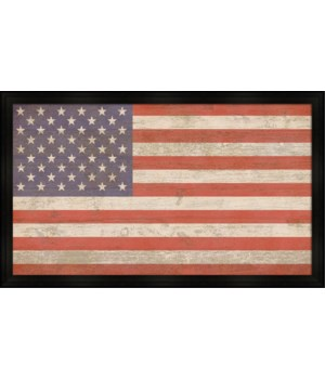 VINTAGE FLAG (framed)