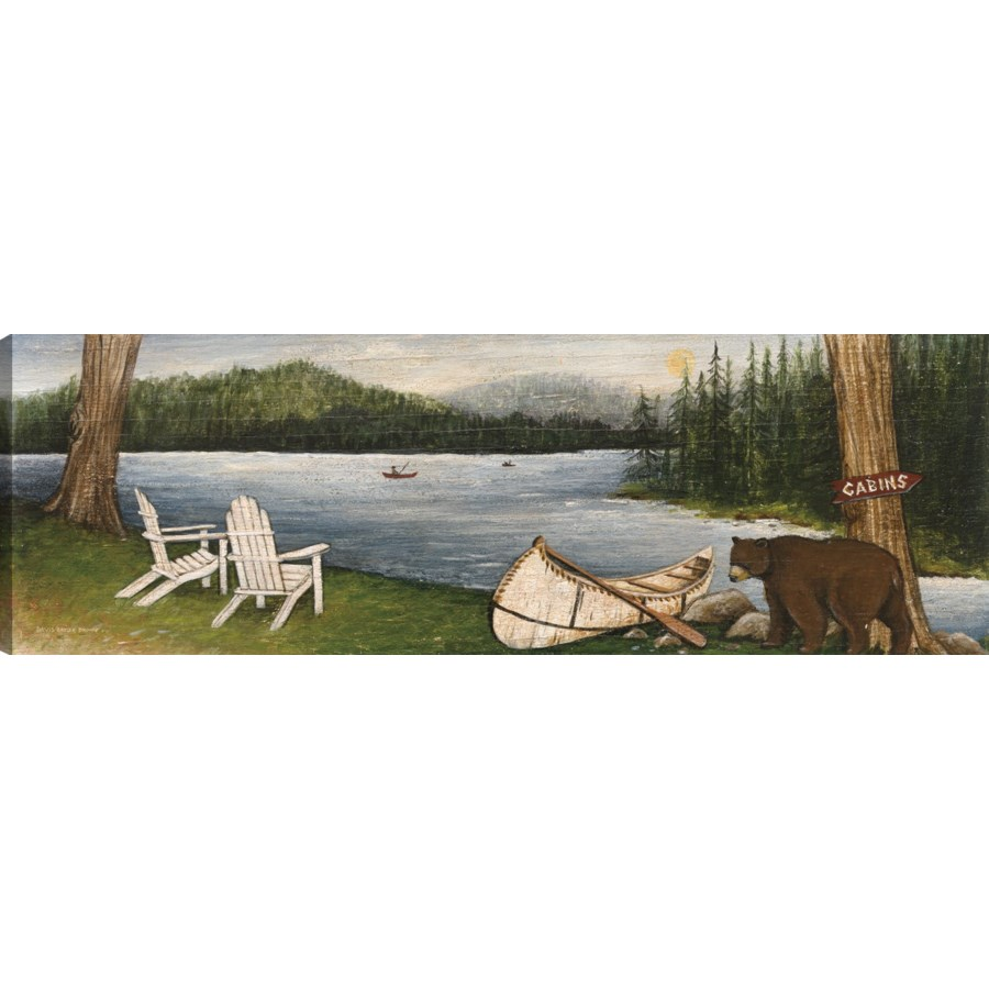 NORTHWOODS BEAR (giclee on canvas)