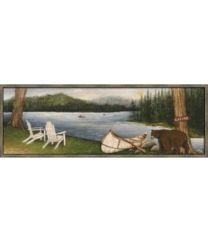 NORTHWOODS BEAR (float frame)