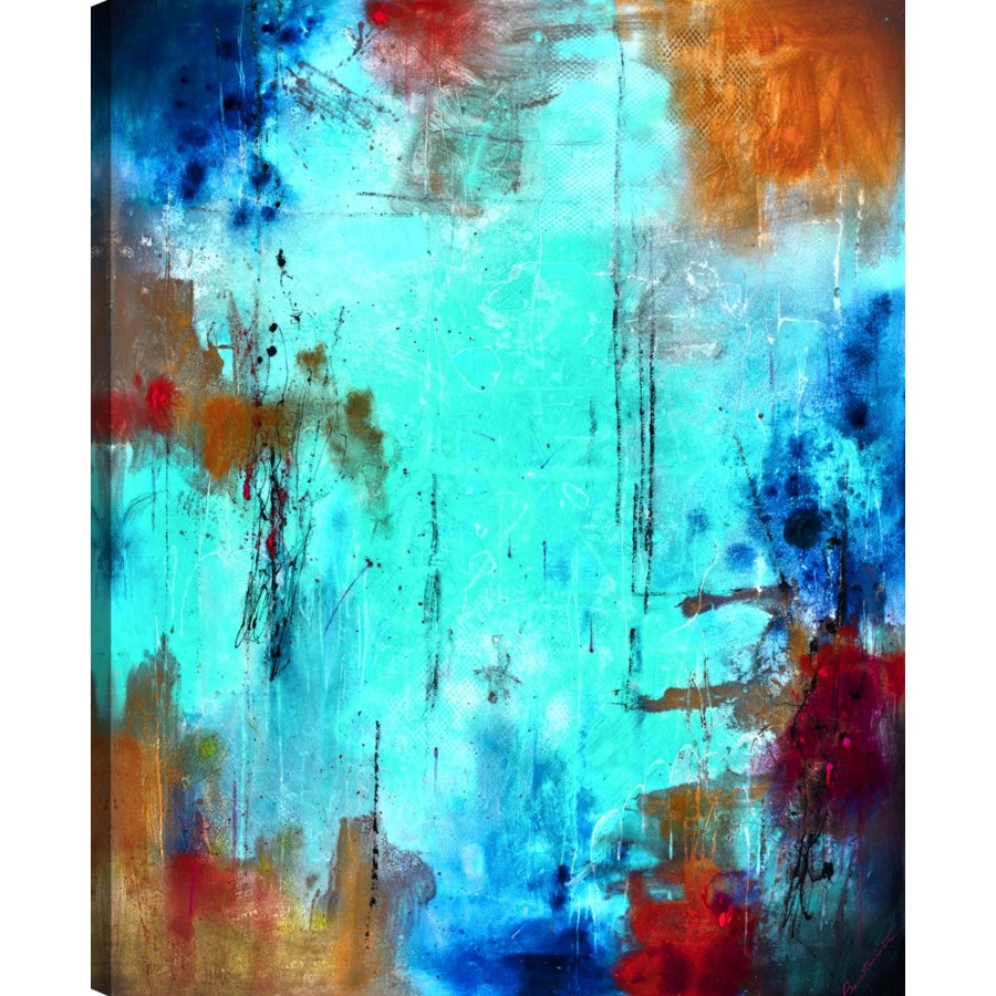 STELLAR (exclusive hand embellished giclee on canvas)