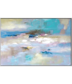 OVER THE RIDGE (giclee)(framed)