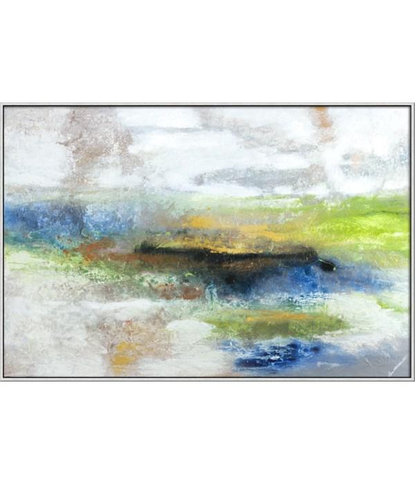 BREEZY (gilcee)(framed)