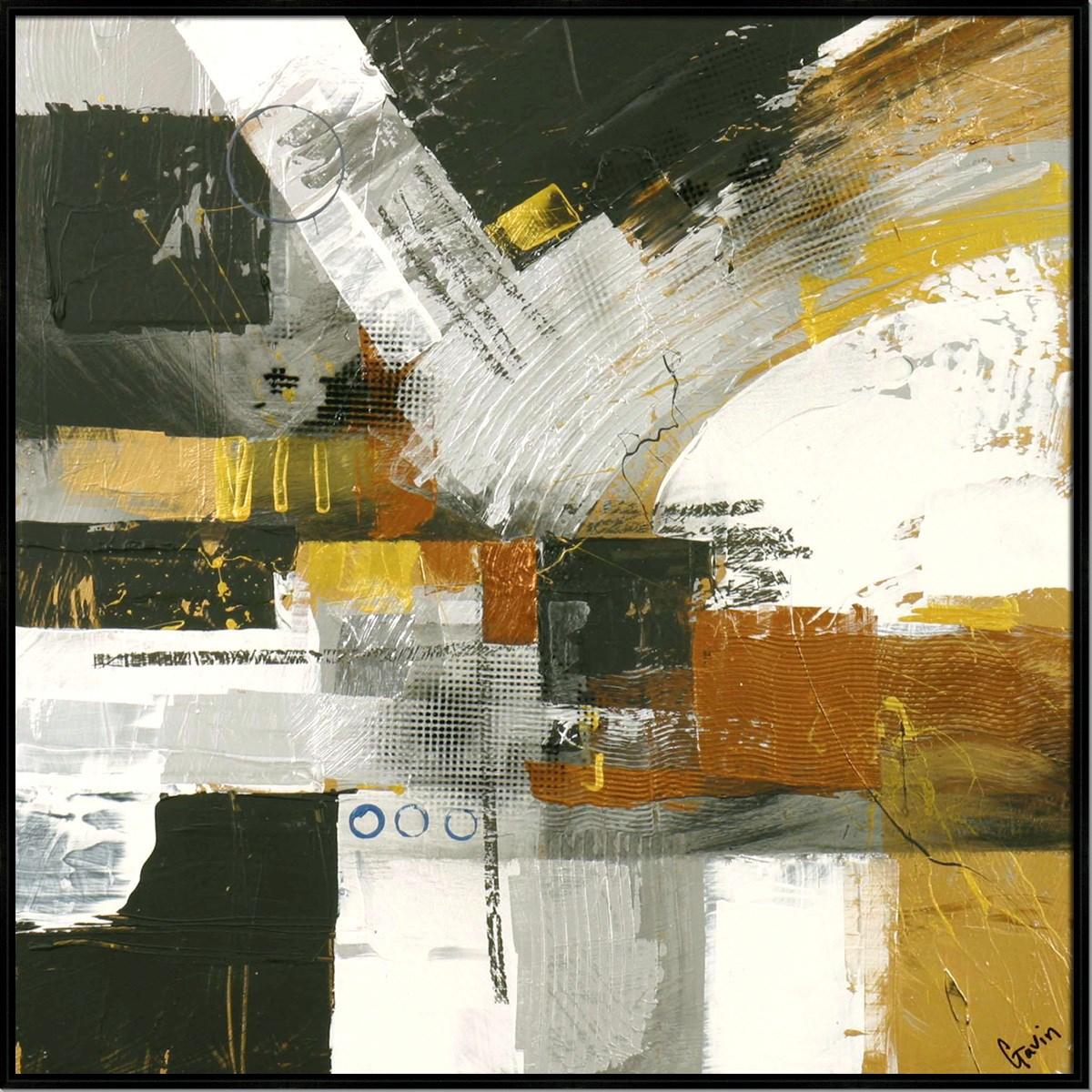METALLIQUE I (HIGH GLOSS)(framed)