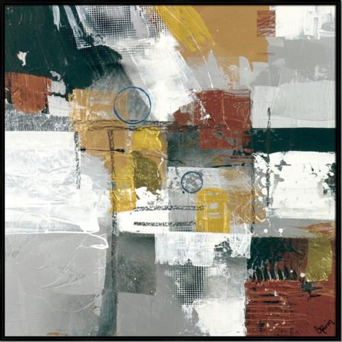 METALLIQUE II (HIGH GLOSS) (framed)