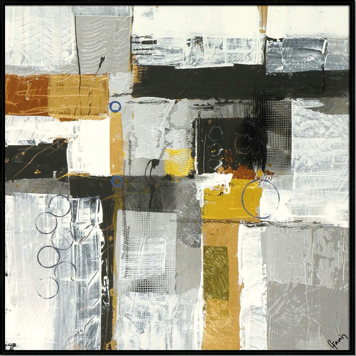 METALLIQUE IV (HIGH GLOSS) (framed)