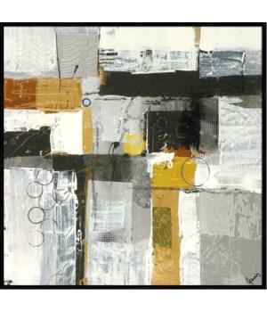 METALLIQUE IV (HIGH GLOSS)(framed)