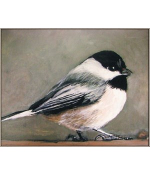 CHICKADEE (framed)