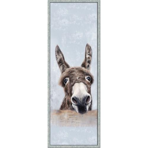 DONKEY LEFT (framed)