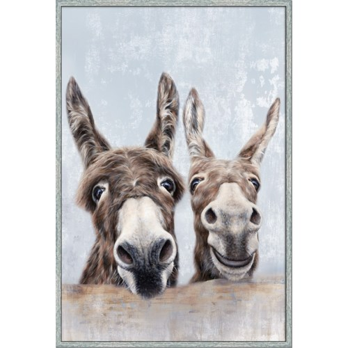 DONKEYS (framed)