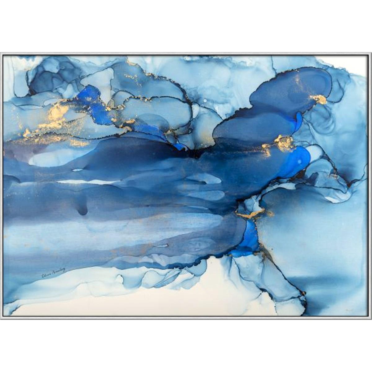 OCEAN BLUE - HIGH GLOSS (framed)