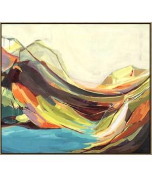 MOUNT DESERT ISLE (in floater frame)