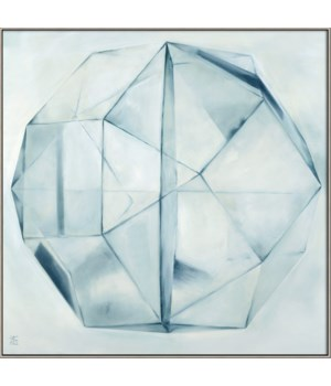 CRYSTAL IN ICE - HIGH GLOSS (float frame)