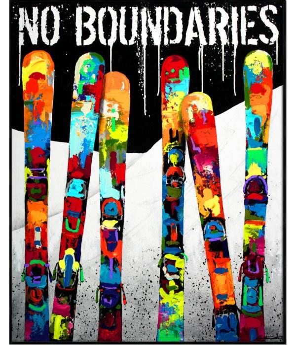 NO BOUNDARIES (sm)(framed)