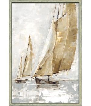 GOLDEN SAILS II (framed)