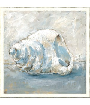 BLUE SHELL STUDY IV (framed)