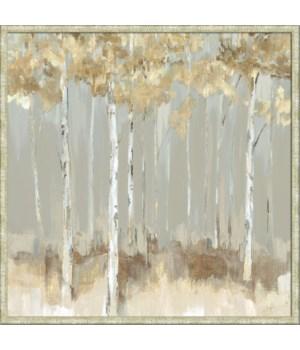 MIDNIGHT INDIGO YELLOW (framed)