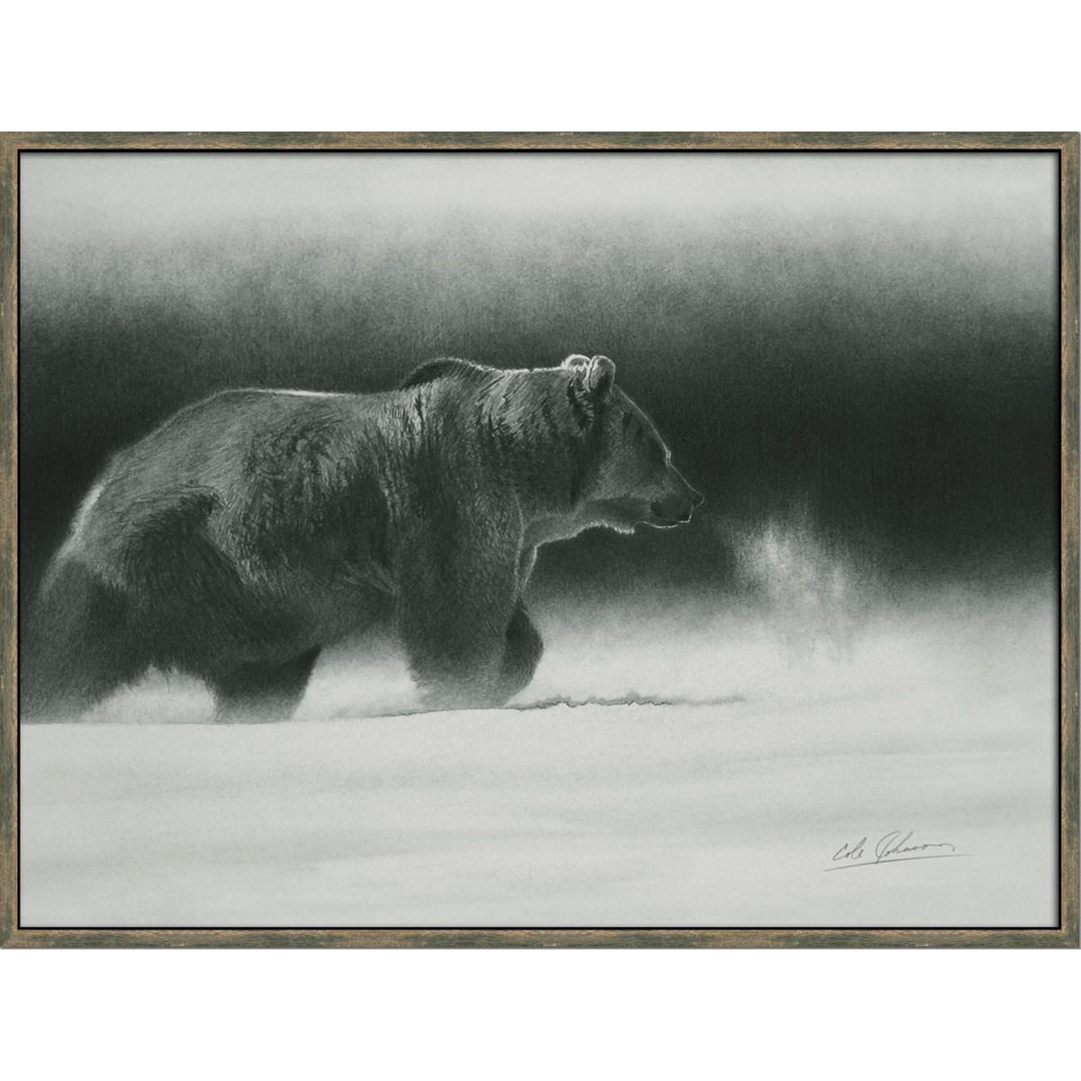 SILVERTIP (framed)