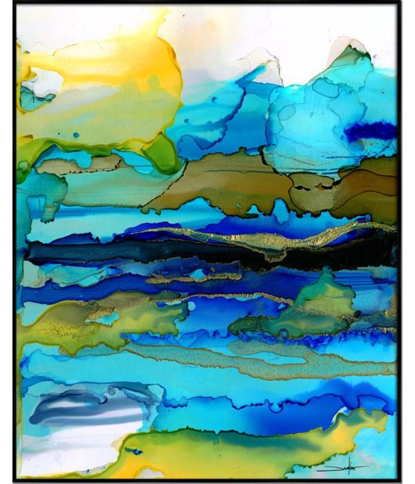 SET SAIL - HIGH GLOSS (framed)