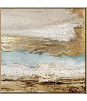 PLAYA SECRETO II (in floater frame)