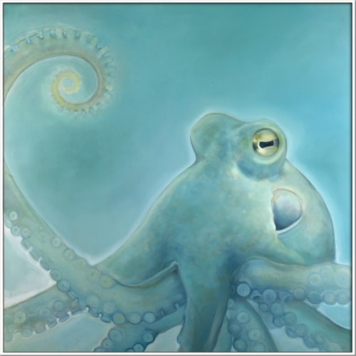 SEA BLUE OCTOPUS (exclusive)(float frame