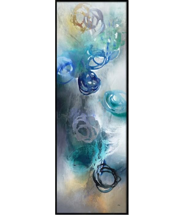 WATER ROSES I (framed)