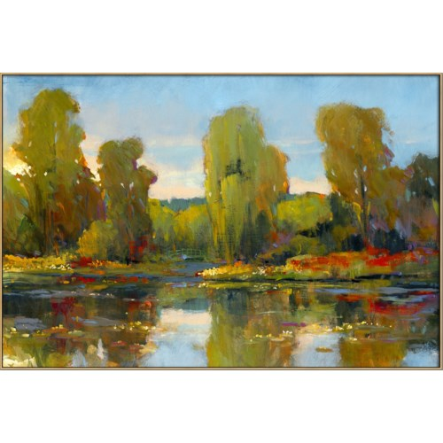 MONET'S WATER LILY POND I (framed)