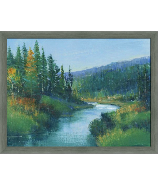 TROUT STREAM I (framed)