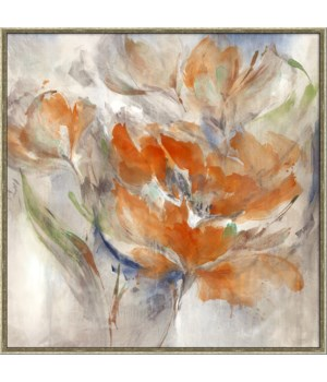 BLUSHED BOUQUET (framed)