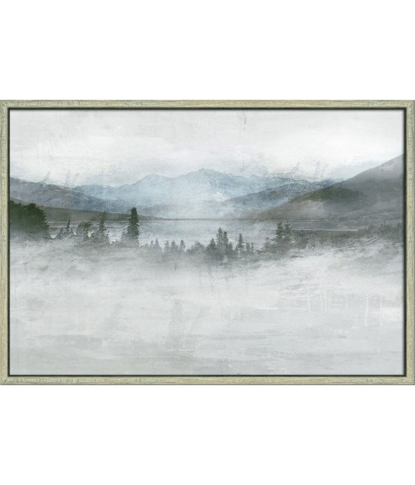 MISTY MOUNTAIN I (framed)