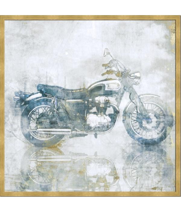 BLUE RIDE (framed)