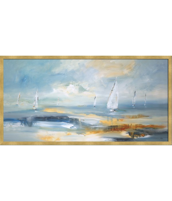 OCEAN PLAY I (framed)