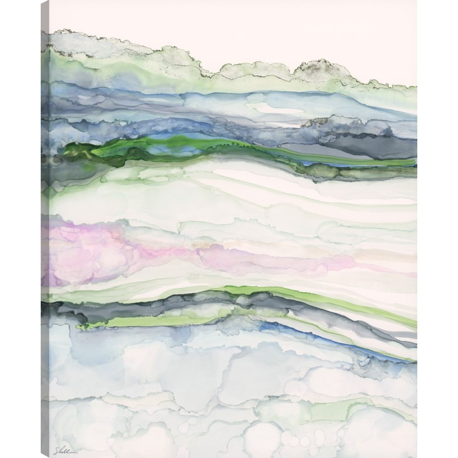 MISTY KNOLL (exclusive giclee on canvas)