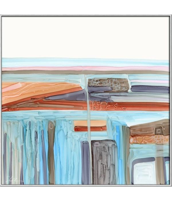 SANTA FE HORIZONS - HIGH GLOSS (framed)