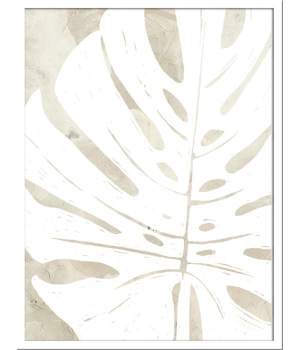 LINEN TROPICAL SILHOUETTE (framed)