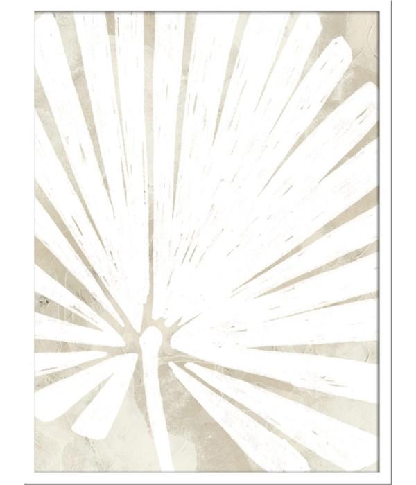 LINEN TROPICAL SILHOUETTE IV (framed)