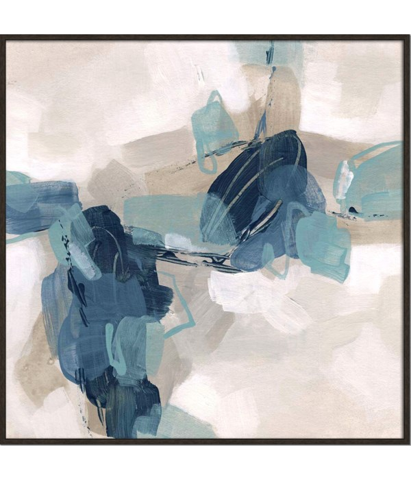 BLUES CHORUS I (framed)