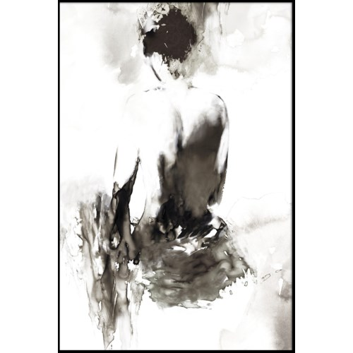 INK LADY (framed)