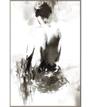 INK LADY (framed in Silver)