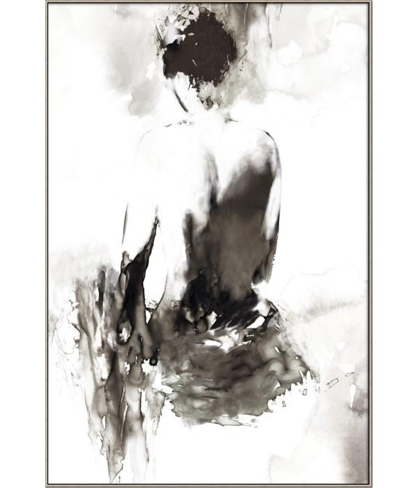 INK LADY (framed in Silver)