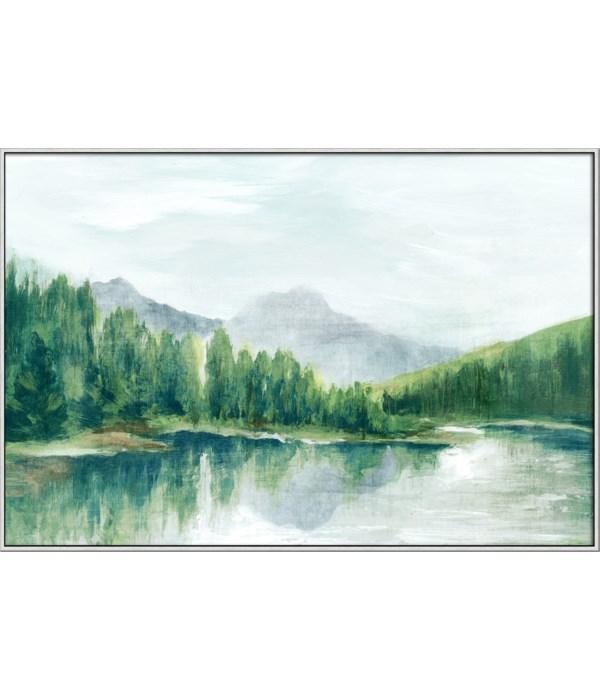SPRING MOUNTAIN (framed)