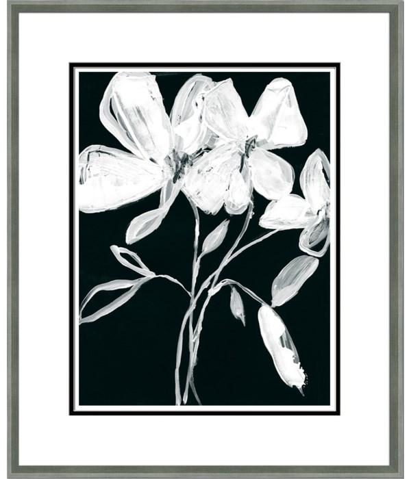 WHITE WHIMSICAL FLOWERS I