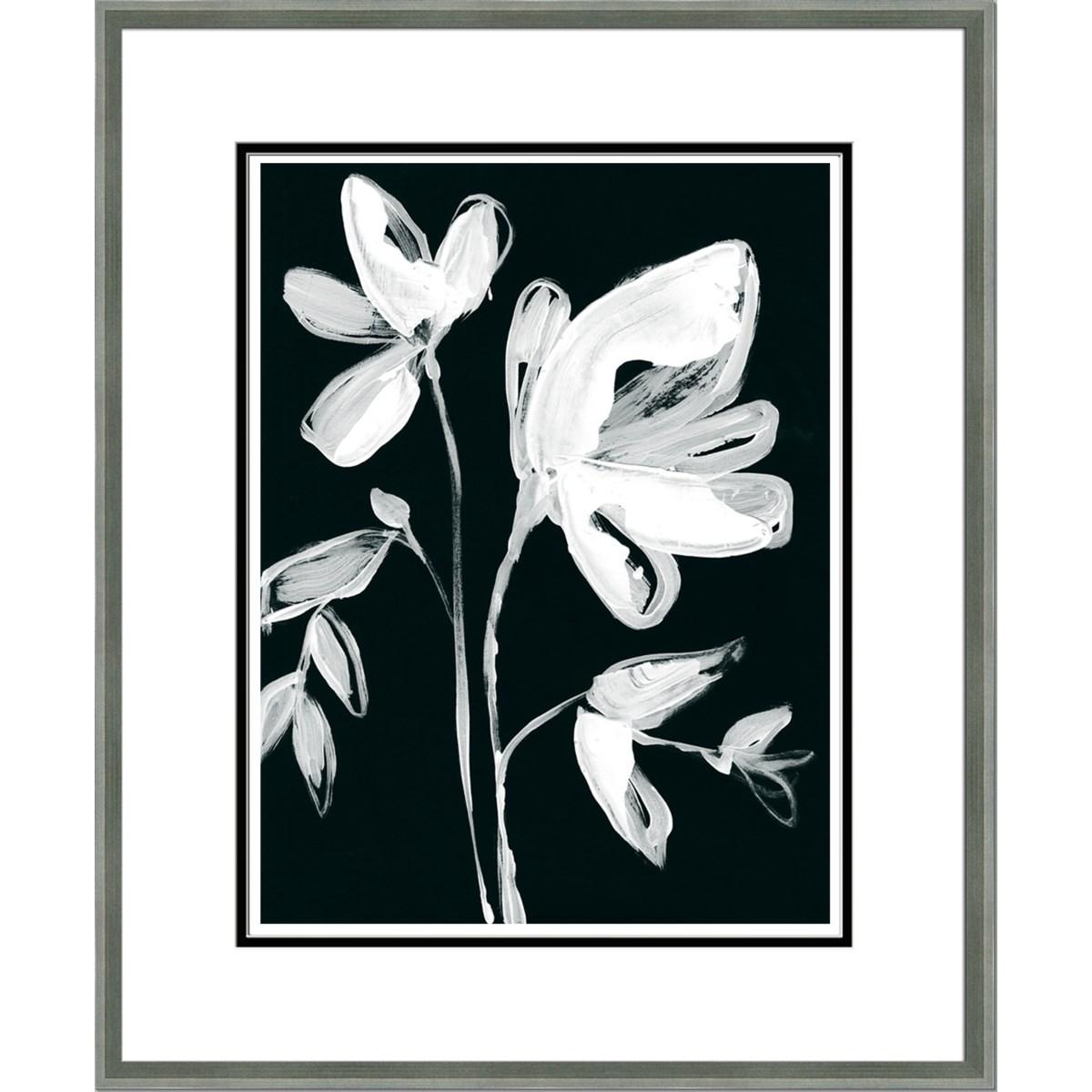 WHITE WHIMSICAL FLOWERS II