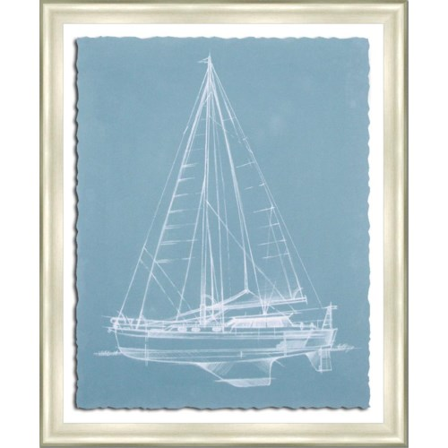 YACHT SKETCHES I (giclee)