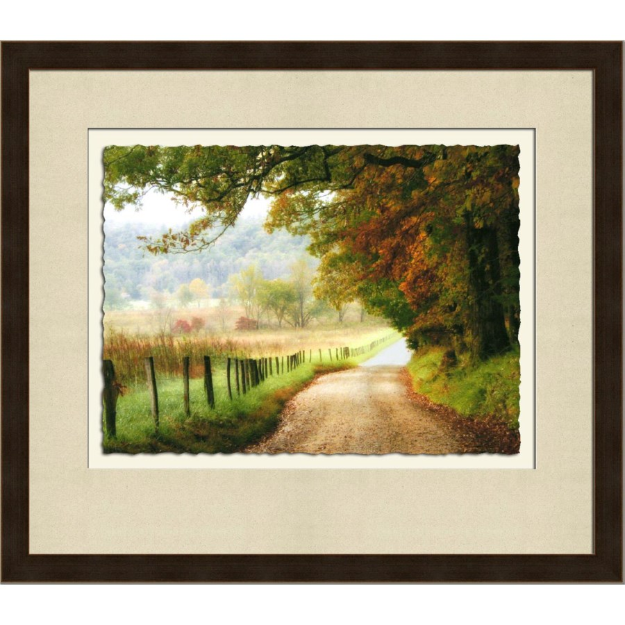 AUTUMN ON A COUNTRY ROAD (giclee)