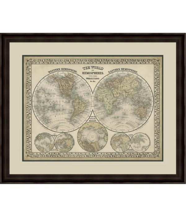 THE WORLD IN HEMISPHERES