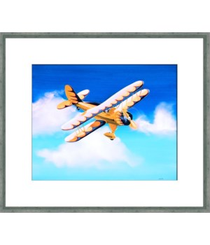 YELLOW BIPLANE (exlusive giclee)